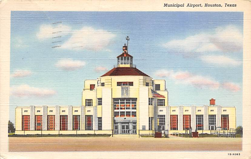 sub062563 - Airport Post Card