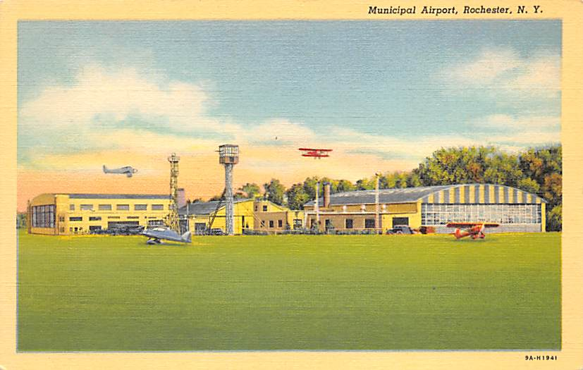 sub062571 - Airport Post Card