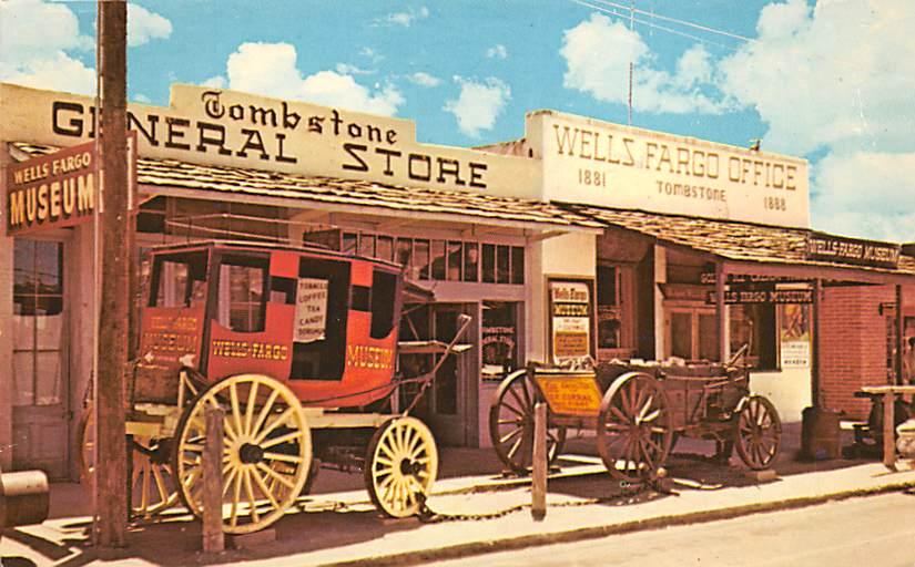 sub063127 - Stagecoach Post Card