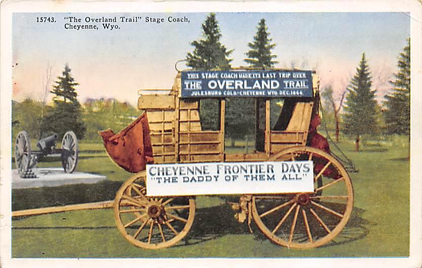sub063137 - Stagecoach Post Card