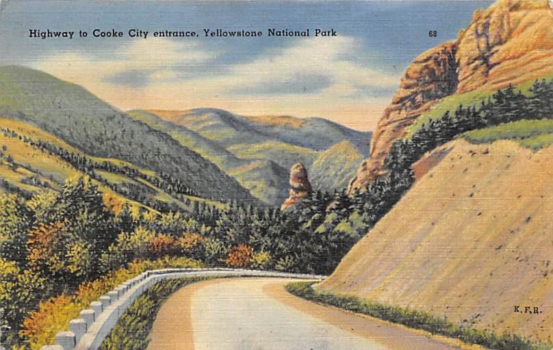 sub065147 - National Park Post Card