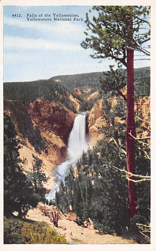 sub065153 - National Park Post Card