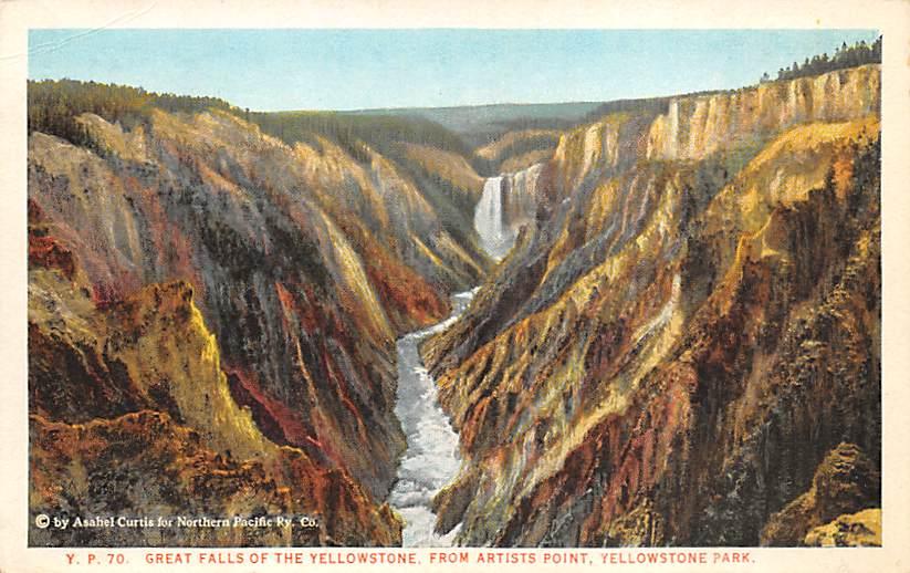 sub065193 - National Park Post Card
