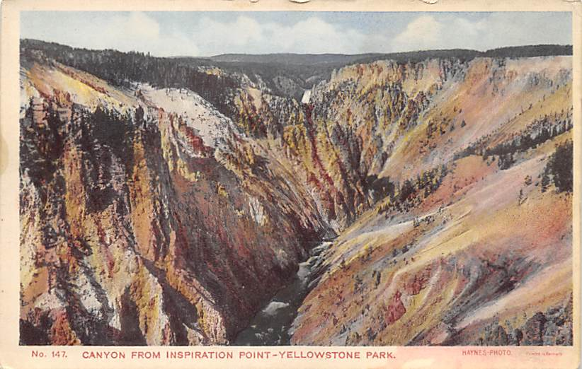 sub065201 - National Park Post Card