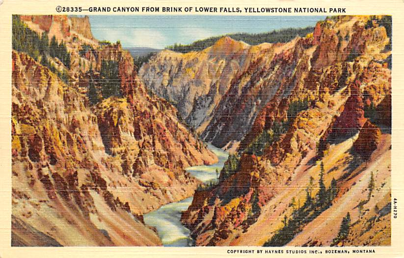 sub065233 - National Park Post Card