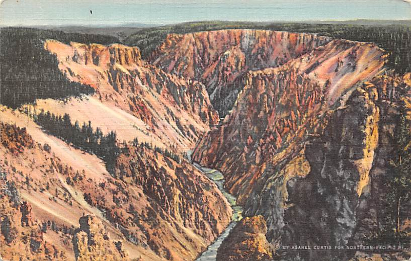 sub065245 - National Park Post Card