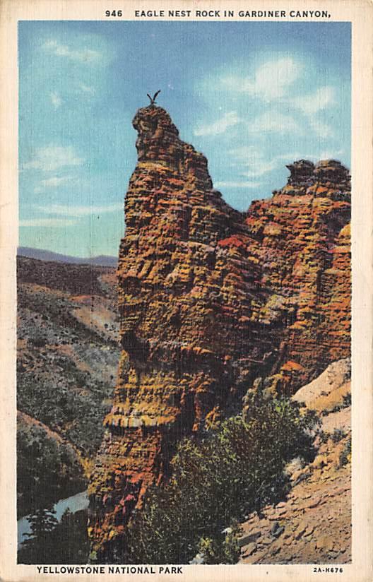 sub065319 - Yellowstone National Park Post Card