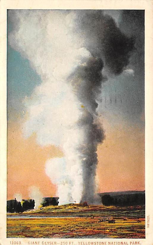 sub065339 - Yellowstone National Park Post Card