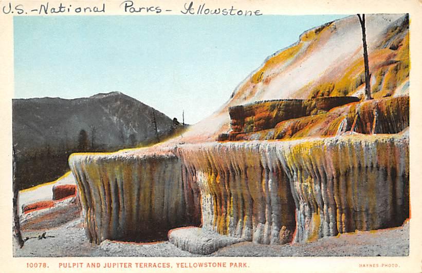 sub065345 - Yellowstone National Park Post Card