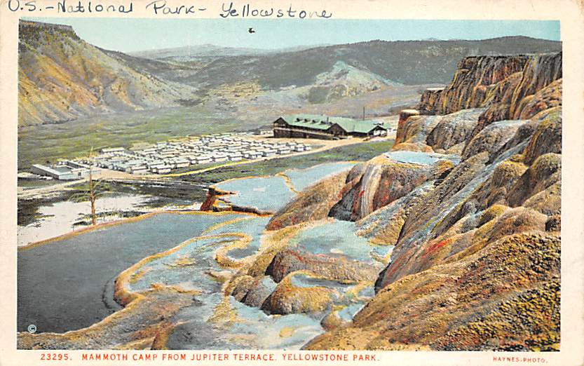 sub065355 - Yellowstone National Park Post Card