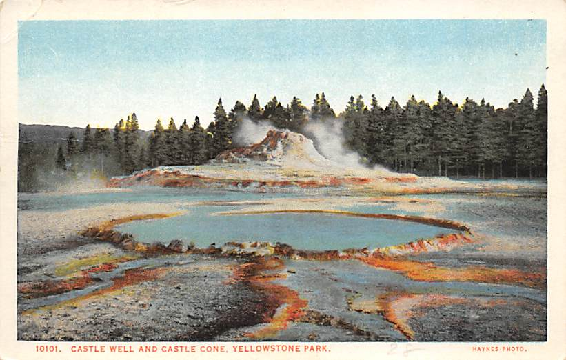 sub065359 - Yellowstone National Park Post Card