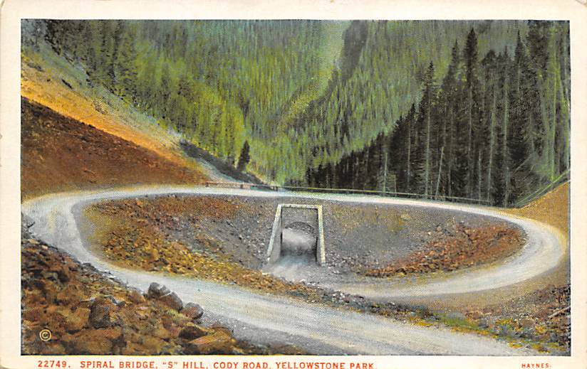 sub065361 - Yellowstone National Park Post Card