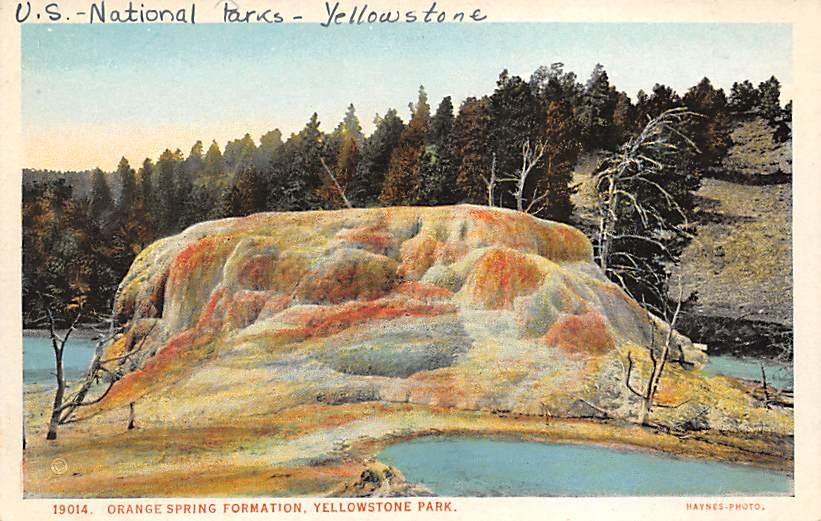 sub065363 - Yellowstone National Park Post Card