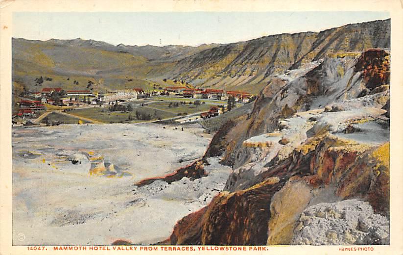 sub065373 - Yellowstone National Park Post Card