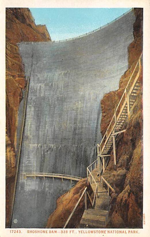 sub065381 - Yellowstone National Park Post Card