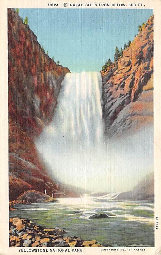 sub065403 - Yellowstone National Park Post Card