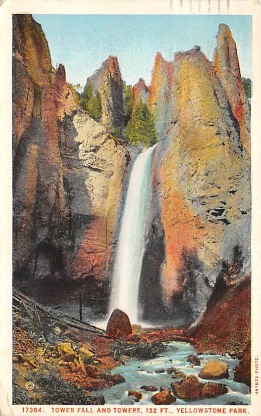 sub065423 - Yellowstone National Park Post Card
