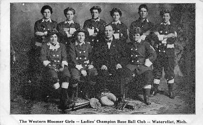 Western Bloomer Girls, Watervliet, Michigan USA