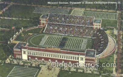 Memorial Stadium, Champaign-Urbana, IL, USA