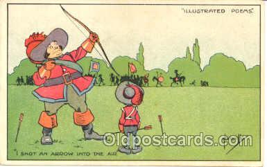spo000002 - Archery, Bow & Arrow, Postcard Postcards