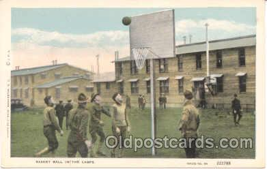 Basket Ball in the camps