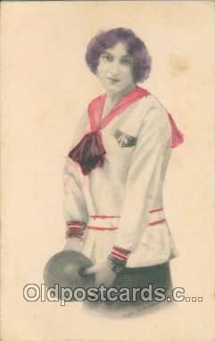 spo004061 - Bowling Postcard Postcards