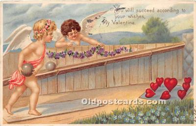 spo004329 - Old Vintage Bowling Postcard Post Card