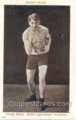 spo005256 - Boxing Series Postcard Postcards