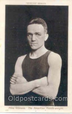 spo005257 - Boxing Series Postcard Postcards