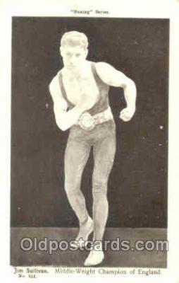 spo005290 - Boxing Series Postcard Postcards