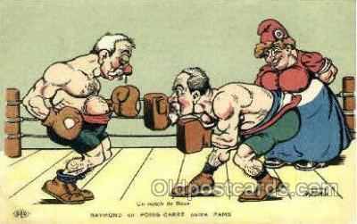 spo005697 - Nadau Boxing Postcard Post Cards Old Vintage Antique Postcard
