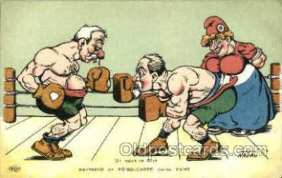 spo005709 - Nadau Boxing Postcard Post Cards Old Vintage Antique Postcard