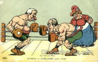 spo005711 - Nadau Boxing Postcard Post Cards Old Vintage Antique Postcard