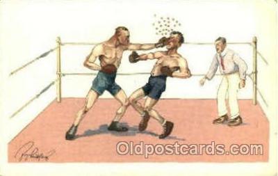 spo005716 - Boxing Postcard Post Cards Old Vintage Antique Postcard