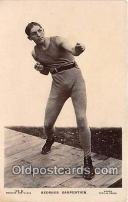 Georges Carpentier Boxing Postcard Post Card