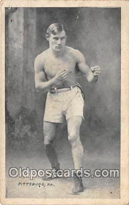 Frank Kalus Boxing Postcard Post Card
