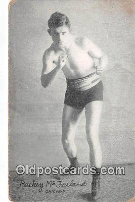 Packey Mc Farland Boxing Postcard Post Card