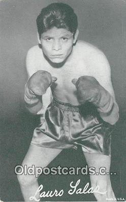 Lauro Salas Boxing Postcard Post Card