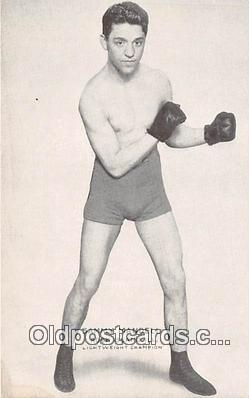 Sammy Mandell Boxing Postcard Post Card