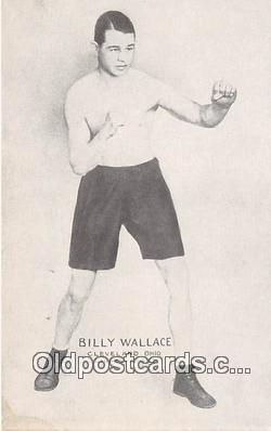 Billy Wallace Boxing Postcard Post Card