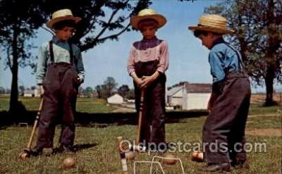 spo008030 - Croquet Postcard Postcards
