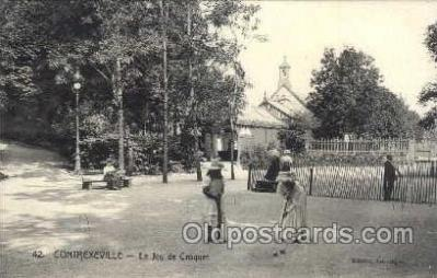 spo008031 - Croquet Postcard Postcards