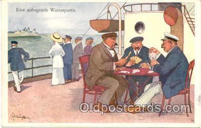 spo012057 - Gambling Postcard Postcards