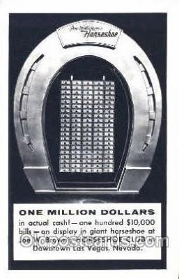 spo012395 - Joe W. Brown's Horseshoe Gambling Postcard Postcards