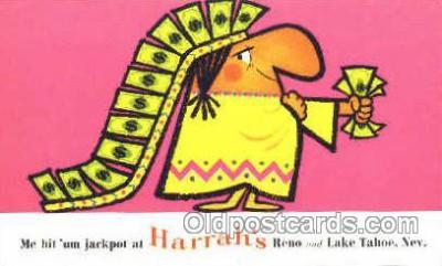 spo012436 - Harrah's Club Gambling Postcard Postcards