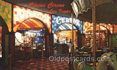 spo012487 - Circus Circus Gambling Postcard Postcards