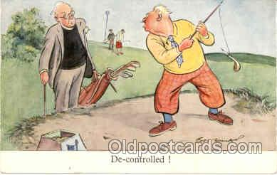 spo013156 - Golf Postcard Postcards