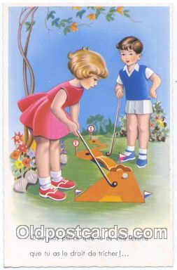 spo013181 - Miniature Golf Postcard Postcards