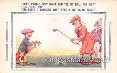 spo013575 - Golf Postcard