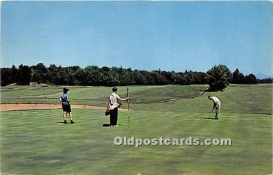 spo013724 - Old Vintage Golf Postcard Post Card